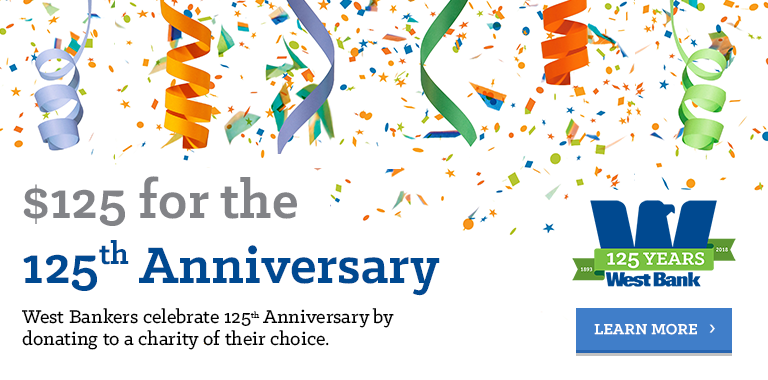 Link to Blog Post: 125th Donations in Celebration of the 125th Anniversary
